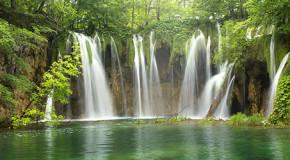 Wasserfall-Therapie gegen Asthma