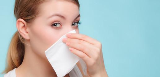 Was hilft bei verstopfter Nase?