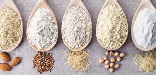 Warenkunde Mehl: Mehlsorten und glutenfreie Alternativen